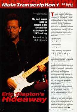 Phil Hilborne - Eric Clapton - Hideaway