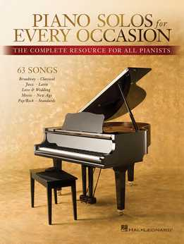 Piano Solos For Every Occasion - The Complete Resource For All Pianists