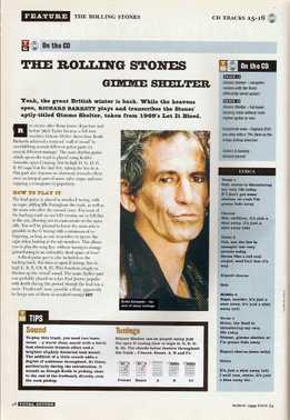 Richard Barrett - The Rolling Stones - Gimme Shelter