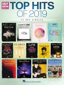 Top Hits Of 2019 - Easy Guitar Songbook - 13 Hot Singles
