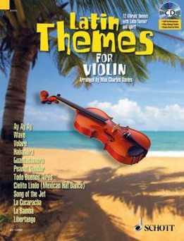 Violin Play-Along - Latin Themes For Violin