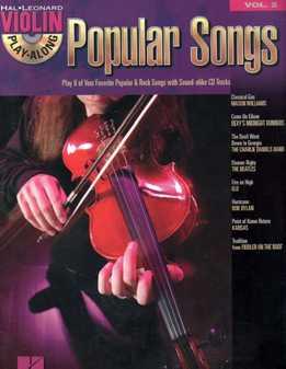 Violin Play-Along Vol. 2 - Popular Songs
