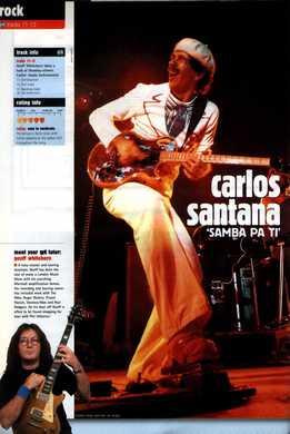 Geoff Whitehorn - Carlos Santana - Samba Pa Ti