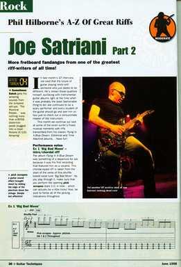 Phil Hilborne - A-Z Of Great Riffs - Joe Satriani. Part 2