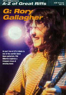 Phil Hilborne - A-Z Of Great Riffs - Rory Gallagher