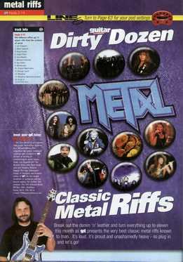 Phil Hilborne - Dirty Dozen - Classic Metal Riffs