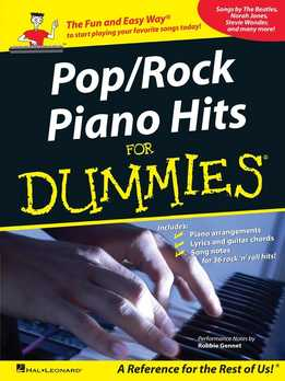 Pop-Rock Piano Hits For Dummies