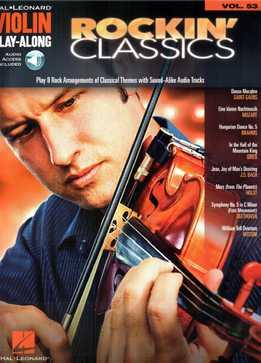 Violin Play-Along Vol. 53 - Rockin' Classics