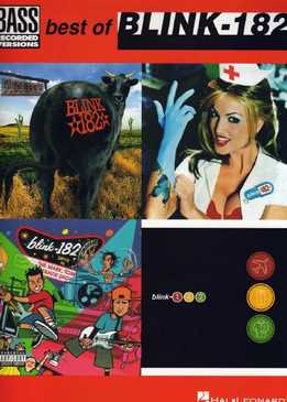 Best Of Blink-182 For Bass - Bass Recorded Versions