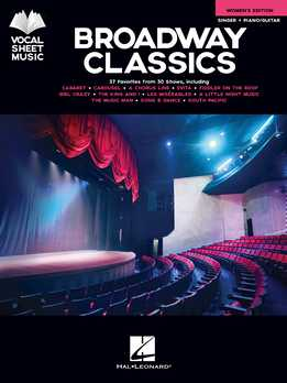 Broadway Classics - Women's Edition - Vocal Sheet Music