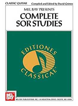 David Grimes - Complete Sor Studies For Classic Guitar