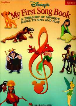 Disney - My First Song Book - A Treasury Of Favorite Songs To Sign And Play Vol. 2