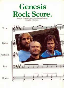 Genesis - Rock Score (Full Band Score)