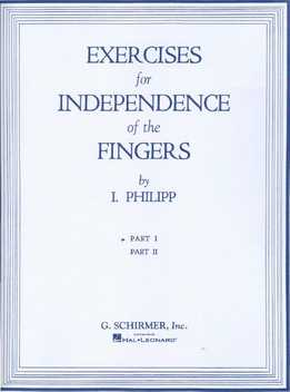 Isidor Philipp - Exercises For Independence Of The Fingers Part 1