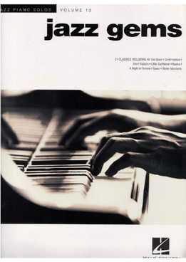 Jazz Piano Solos Vol. 13 - Jazz Gems