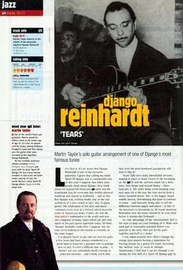 Martin Taylor - Django Reinhardt - Tears