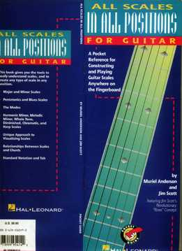 Muriel Anderson, Jim Scott - All Scales In All Positions For Guitar