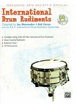 Rob Carson - Official International Drum Rudiments