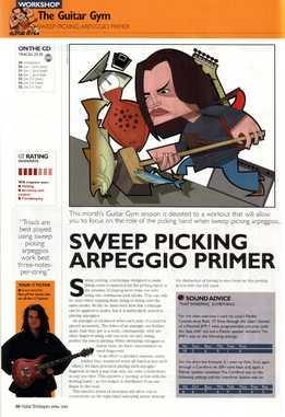 Shaun Baxter – The Guitar Gym. Part 11 - Sweep Picking Arpeggio Primer