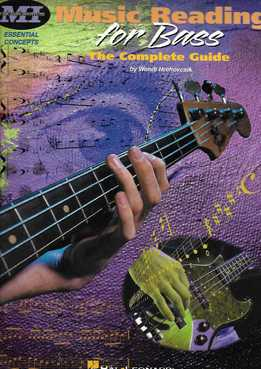 Wendi Hrehovcsik - Music Reading For Bass - The Complete Guide