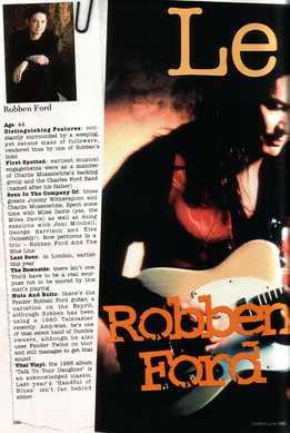 Adrian Clark - Robben Ford Licks