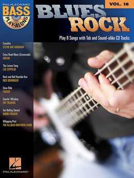 Bass Play-Along Vol. 18 - Blues Rock