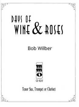 Bob Wilber - Days Of Wine & Rose - Music Minus One Tenor Sax, Trumpet Or Clarinet