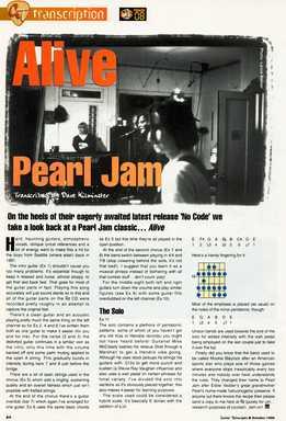 Dave Kilminster - Pearl Jam - Alive