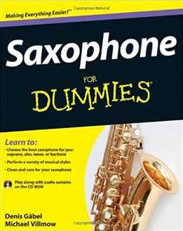 Denis Gabel, Michael Villmow - Saxophone For Dummies