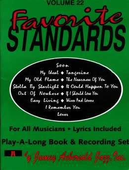 Jamey Aebersold - Favorite Standards Vol. 22