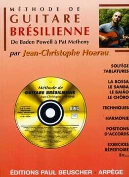 Jean-Christophe Hoarau - Methode De Guitare Bresilienne