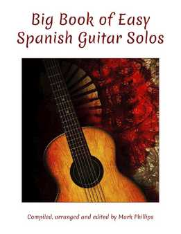 Mark Phillips - Big Book Of Easy Spanish Guitar Solos
