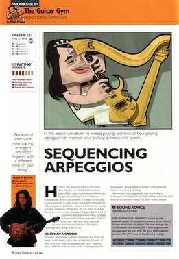 Shaun Baxter – The Guitar Gym Part 13 - Sequencing Arpeggios