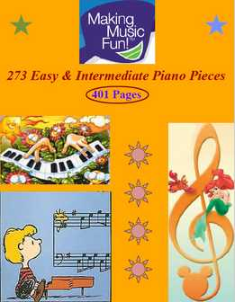 273 Easy & Intermediate Piano Pieces