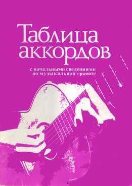 А. Торопов - Таблица Аккордов С Начальными Сведениями По Музыкальной Грамоте