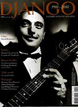 Guitarist Acoustic Magazine - Django