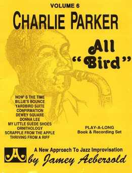 Jamey Aebersold - Charlie Parker - All 'Bird' Vol. 6