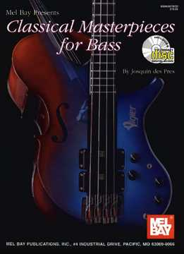 Josquin Des Pres - Classical Masterpieces For Bass