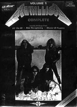 Metallica Complete Vol. 1