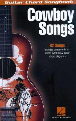 Guitar Chord Songbook - Cowboy Songs