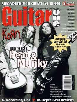 Guitar One April 2000