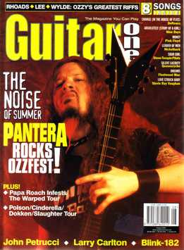 Guitar One August 2000