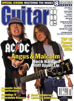 Guitar One June 2000