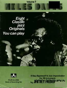 Jamey Aebersold - Miles Davis Vol. 7