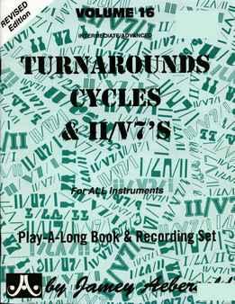 Jamey Aebersold - Turnarounds, Cycles & II-V7's Vol. 16