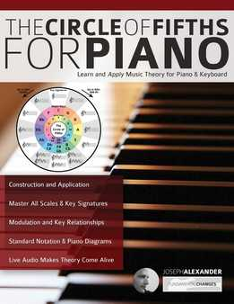 Joseph Alexander - The Circle Of Fifths For Piano - Learn And Apply Music Theory For Piano & Keyboard