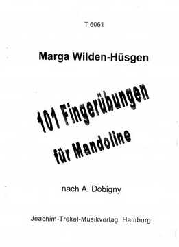 A. Dobigny - 101 Fingerübungen Für Mandoline