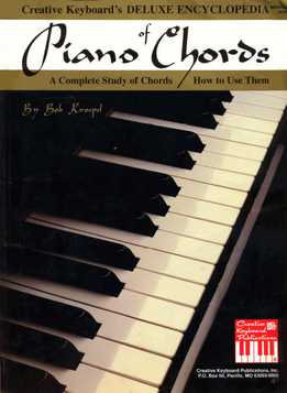 Bob Kroepel - Deluxe Encyclopedia Of Piano Chords