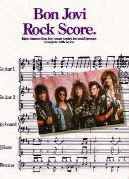 Bon Jovi Rock Score (Full Band Score)