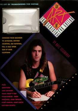 Dave Celentano - The Art Of Transcribing For Guitar